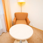 Interior of the hotel room — Stock Photo