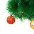 Christmas decoration on the tree — Stock Photo #2873741