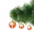 Christmas decoration on the tree — Stock Photo #2875467