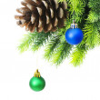 Royalty-Free Stock Photo: Christmas decoration on the tree