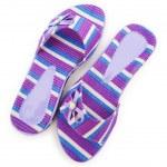Elegant slippers isolated on the white — Stock Photo #2876343