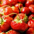 Lots of strawberries arranged — Stock Photo #2876525