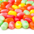 Stock Photo: Various jelly beans isolated