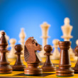 Stock Photo: Chess concept with pieces