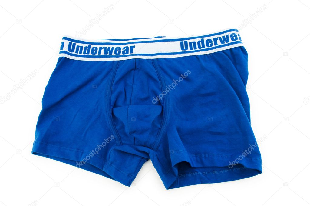 Male underwear isolated on the white  Stock Photo #2870909
