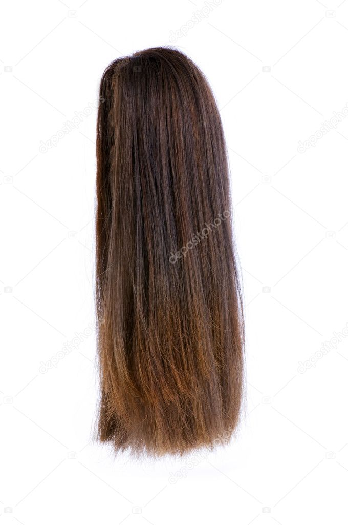 Hair wig isolated on the white — Stock Photo #2872202