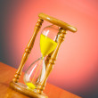Time concept with hourglass — Stock Photo #2881164