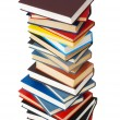 Stockfoto: Stack of books isolated on the white