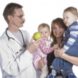 The children's doctor and the small child — Stock Photo #2959904