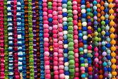 Coloured beads — Stock Photo