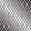 Steel mesh fence — Stock Vector