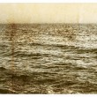 Stock Photo: Old picture the Black Sea for design