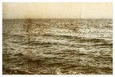 Old picture the Black Sea for design — Stock Photo