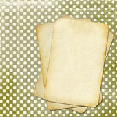 Grunge papers polka dot background for design — Stock Photo