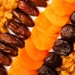 Dried fruits — Stockfoto