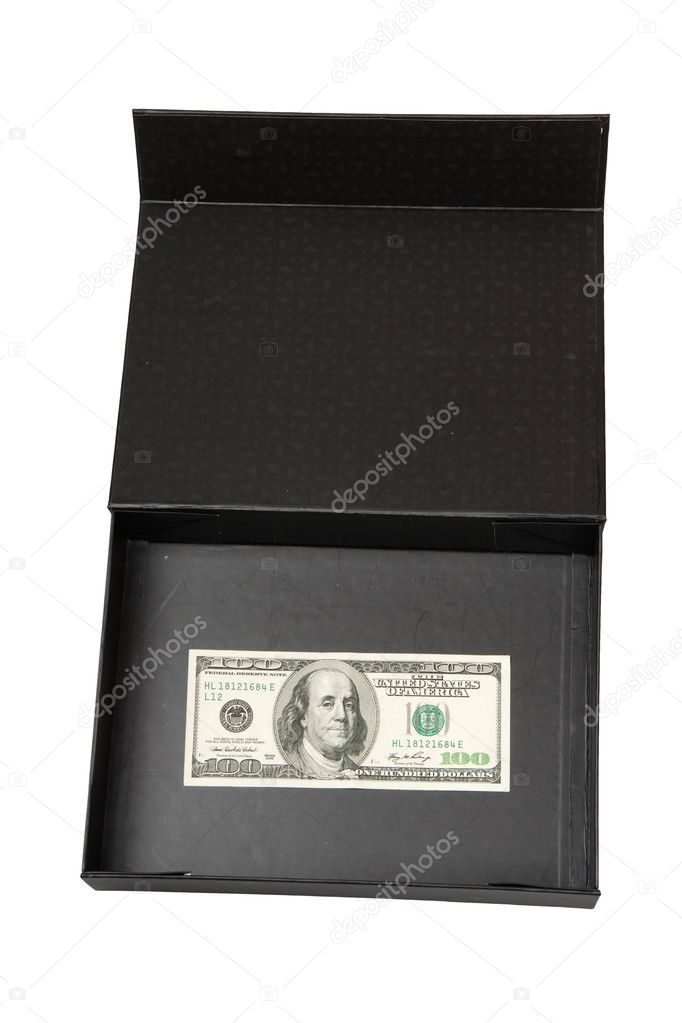 Dollars in black box, money  Stock Photo #2892686