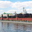 Moscow Kremlin Wall — Stock Photo #3524615