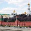 Moscow Kremlin Wall - Stock Photo