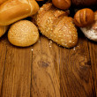 Assortment of baked bread — Stock Photo #5116285