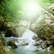 Natural Spring Waterfall — Stock Photo #5116352
