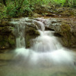 Natural Spring Waterfall — Stock Photo