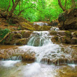 Natural Spring Waterfall - 图库照片