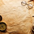 Compass, rope and glasses — Stock Photo #5119458