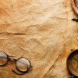 Compass, rope and glasses — Stock Photo #5120234