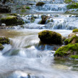 Natural Spring Waterfall - Stock Photo