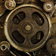 View of gears from old mechanism — Stock Photo