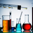 Stock Photo: Assorted laboratory glassware equipment