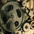View of gears from old mechanism — Stock Photo #5122305
