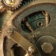 View of gears from old mechanism — Stock Photo #5122320