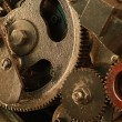 View of gears from old mechanism — Stock Photo #5122439