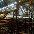 Inside factory area - Stock Photo