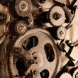 View of gears from old mechanism — Stock Photo #5123470