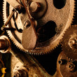 View of gears from old mechanism — Stock Photo #5123477