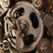 View of gears from old mechanism — Stock Photo #5124231