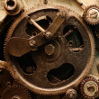 View of gears from old mechanism — Stock Photo #5124232