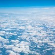 Above the clouds aviation sky - Stock Photo