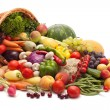 Fresh Vegetables, Fruits and other foodstuffs. — Stock Photo #5128512