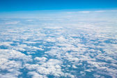 Above the clouds aviation sky — Stock Photo