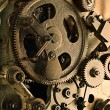View of gears from old mechanism — Stock Photo #5130007