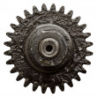View of gears from old mechanism - Foto de Stock