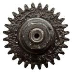 Вид коробки передач от старого механизма — Стоковое фото #5130407