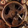 View of gears from old mechanism — Stock Photo #5130884