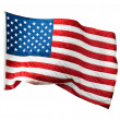 Flag USA — Stock Photo #5131705