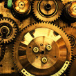 View of gears from old mechanism — Stock Photo #5133888