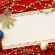 Christmas decoration. vintage background. — Stock Photo #5134549