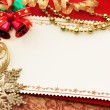 Christmas decoration. vintage background. — Stock Photo #5135333